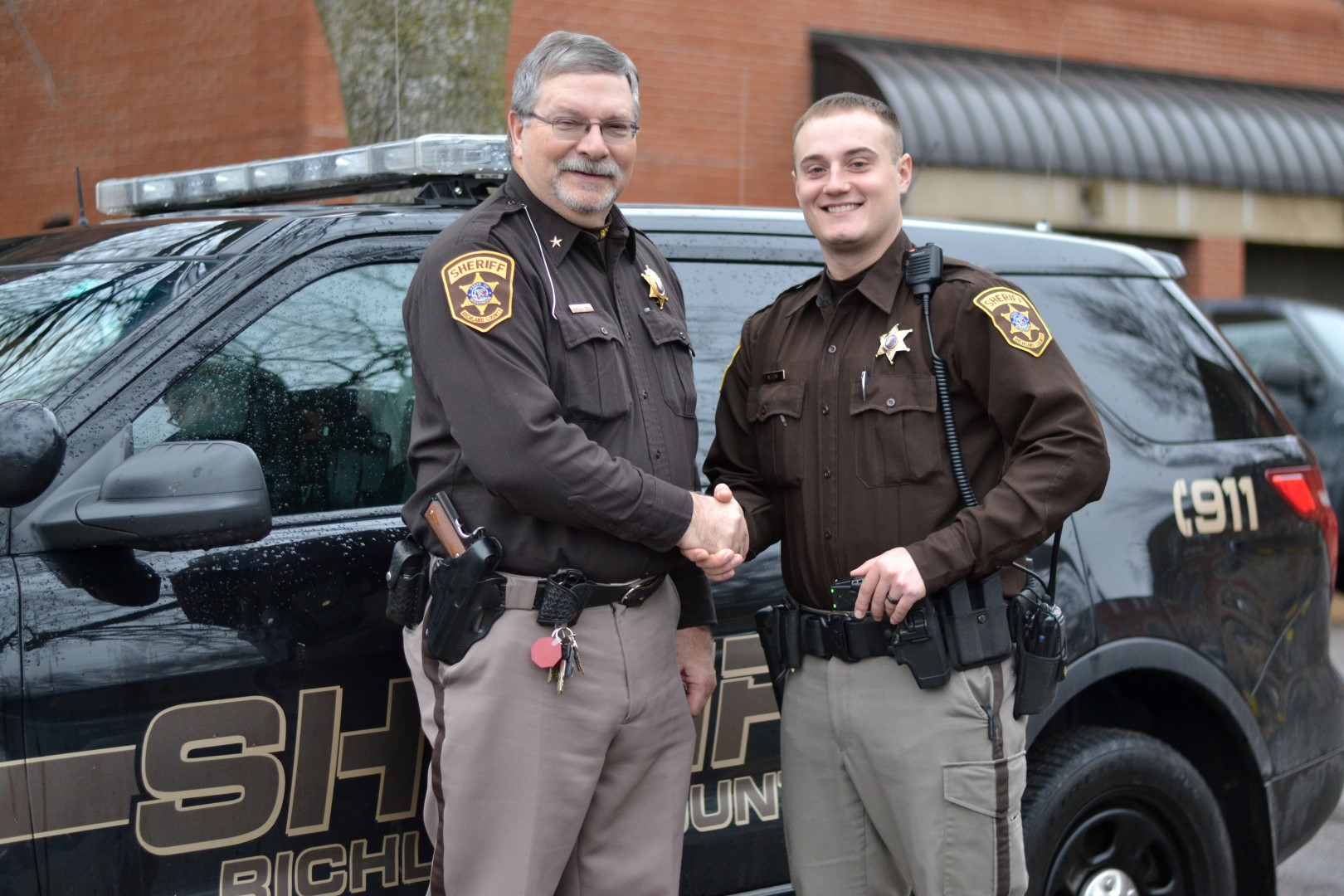 Sheriff's Department Selects New K9 Handler